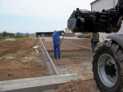 Betonování s vlastním mícháním betonu