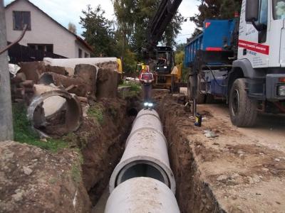 Revitalizace potrubí na DN800, obec Krokočín