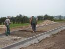 Betonáž pod zámkovou dlažbu