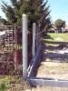 Výstavba betonového plotu