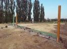 Výstavba pojezdové brány